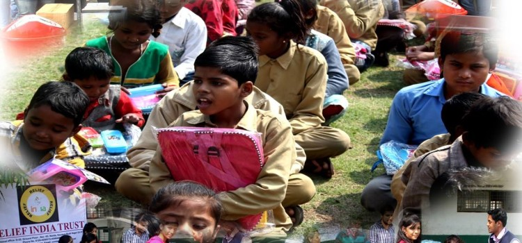 Relief India Trust- trying to make Indian future bright