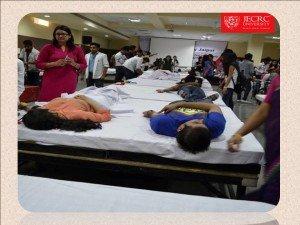 JECRC Amit Agarwal organized a blood donation camp 1