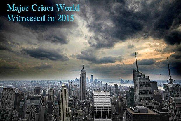 Major crises 2015