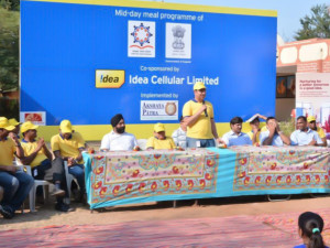 Idea Cellular collaborates with Akshaya Patra to support its noble cause