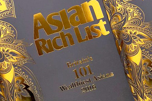 UK's Wealthiest Asian List 2016 ruled by Indians