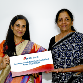 ICICI Bank extends financial aid to families of Indian martyrs