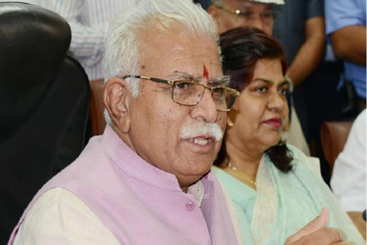 Chief Minister Manohar Lal