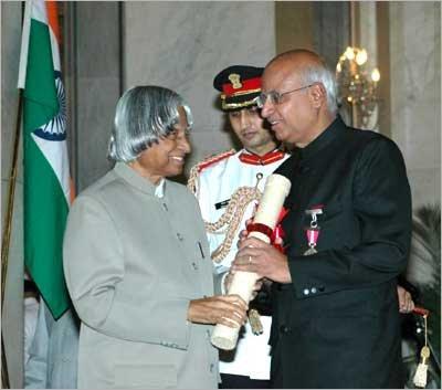 Ramodrai Padma Bhushan
